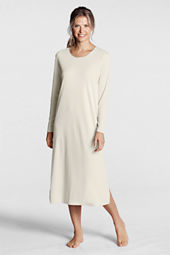 Women's Long Sleeve Midcalf Sleep-T Nightgown