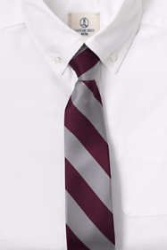 School Uniform Kids Stripe Pre Tied Tie