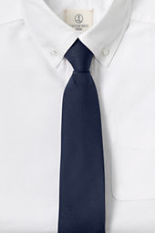 School Uniform Kids' Solid Pre-tied Necktie