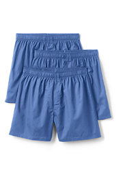 Men's Cotton Boxer Shorts (3-pack)