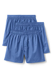 Men's Broadcloth Boxers (3-pack)