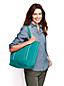 Mittelgroße Canvas-Tasche mit Reißverschluss
