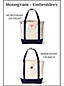 Le Sac Fourre-Tout Zippé en Toile Canvas, Taille Large