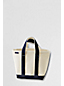 Small Open Top Canvas Tote Bag