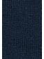 レディス・スーピマ・ファインゲージ・オープンクルーネック・セーター/カラーブロック/七分袖