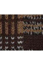 Lambswool Shawl Cardigan Sweater 421217: Mink Brown Heather